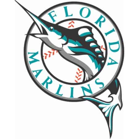 This logo for the Marlins was designed in 1993, and it looks it. That dusty teal was one of the most trendy colors of the 90s, which means that now it seems immediately dated. Using trendy colors might be cool for a year or so, but your company will be forced to redesign every couple of years. Fortunately, the Marlins have updated their logo, but we'll never forget this piece of logo history.